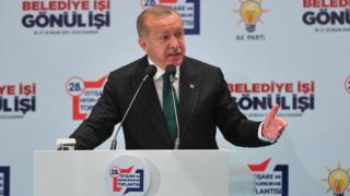 Madaxweynaha Turkiga Racip Tayib Erdogan