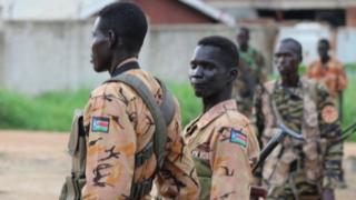 Abasirikare bo muri Sudani yepfo