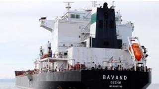 Navio iraniano no Porto de Paranaguá