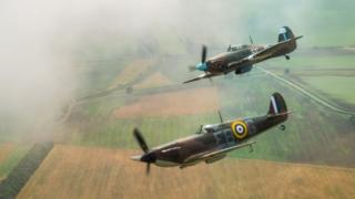 The BBMF is a regular RAF unit, manned by Service personnel