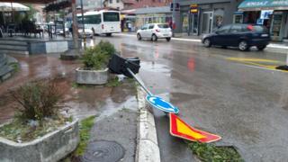 Град је изазвао велику штету у Ужицу