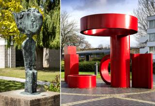 Father Courage by FE McWilliam, 1960 - University of Kent. Canterbury. 3B Series No 1 by Bernard Schottlander, 1968 - Coventry.