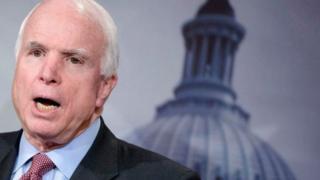 John McCain ayaa laga helay kansar