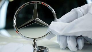 Mercedes Benz' characteristic star