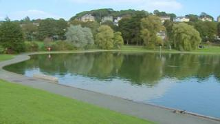 The Lake Grounds in Portishead