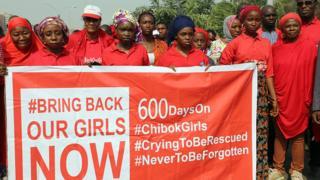 La campagne pour la libération des lycéennes enlevées en avril 2014 à Chibok a été l'un des temps forts de la présence du groupe djihadiste au NIgeria.