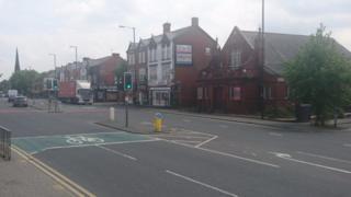 Hyde Road in Gorton