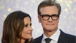 کالین فرث در سال ۱۹۹۷ با لیویا جیوجیولی، تهیه کننده ایتالیایی ازدواج کرد.