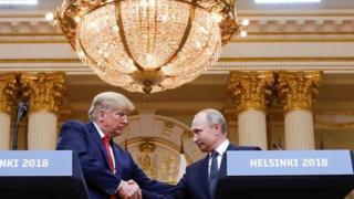 قمة بوتين وترامب