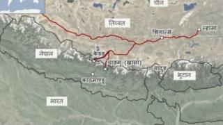 नेपाल चीन रेल