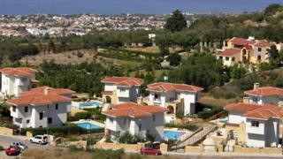 Villas in Kyrenia, northern Cyprus, 17 July 07