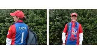 Crystal Palace fan