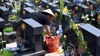 Nghĩa trang tại Việt Nam - hình minh họa