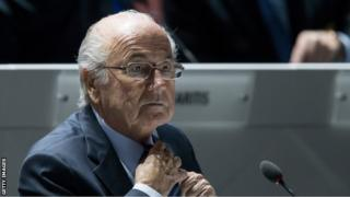 FIFAのゼップ・ブラッター会長