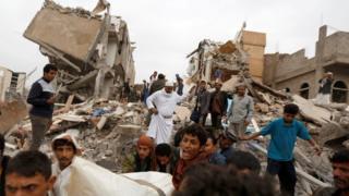Після удару саудівської авіації в Сані в серпні 2017 року