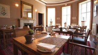 Boath House dining room