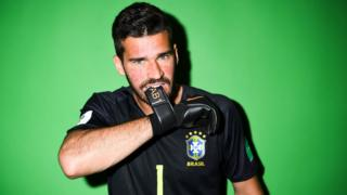 Brazil goalkeeper Alisson Becker