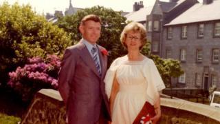 George Murdoch with wife Jessie