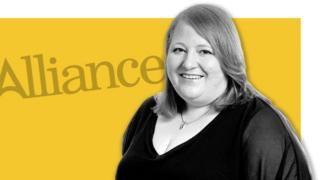Naomi Long, leader of the Alliance party