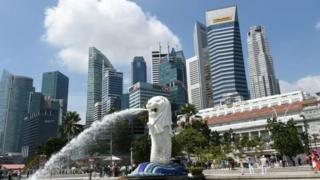 Gia đình Kim được cho là cảm thấy thoải mái ở Singapore, thậm chí đến đây để khám bệnh.