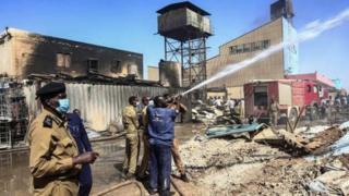 सूडान में फ़ैक्टरी में ब्लास्ट