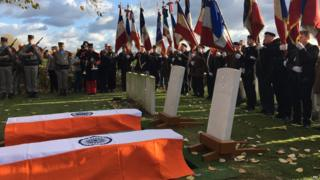 Two Indian soldiers cremated in France