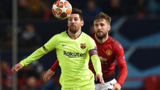 Barcelona na Messi