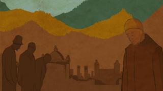 Рисунок: кладбище