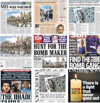 英国报纸头版