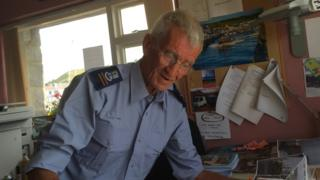 Peter Evans is the current harbourmaster