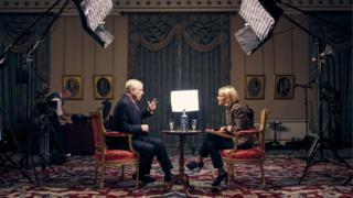 The Duke of York , speaking for the first time about his links to Jeffrey Epstein in an interview with BBC Newsnight's Emily Maitlis,