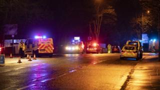 Queensferry Road crash