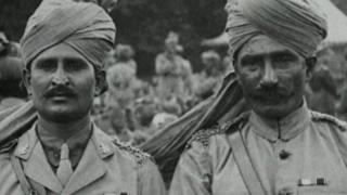 మొదటి ప్రపంచ యుద్ధంలో పాల్గొన్న భారత సైనికులు