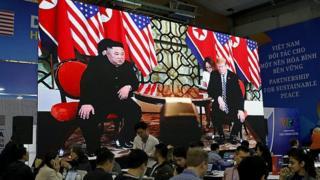 Donald Tramp i Kim Džong Un u Vijetnamu