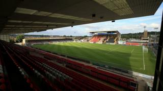 Lincoln City FC's Sincil Bank stadium