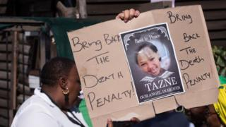 Poster saying 'bring back to the death penalty'