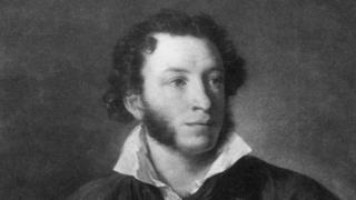 Russian poet Alexander Pushkin