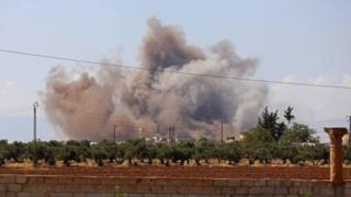 المعارك في إدلب