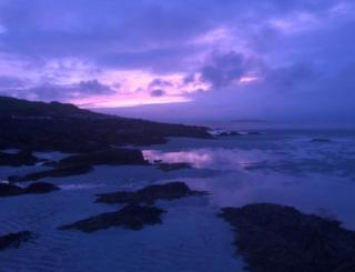 Sunset on North Uist