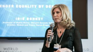 Barri Rafferty em 2016 em Davos