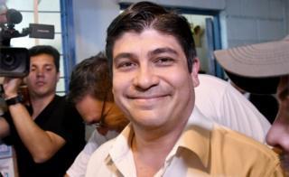Costa Rican presidential candidate Carlos Alvarado