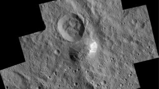 Dawn Spacecraft's picture of Ahuna Mons