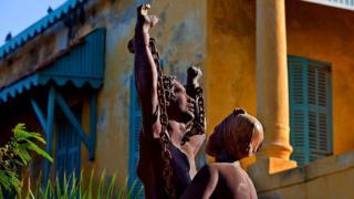 Slave sculpture