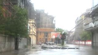 La tempête avait déjà causé des destructions au Mozambique