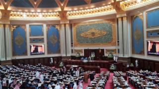 مجلس شورای عربستان