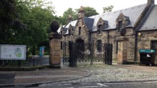 Tollcross Park entrance