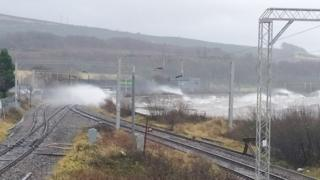 Route cleared to Skye village cut off by landslip