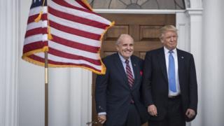 Trump and Giuliani