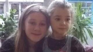 Shanti Harbourne (l) and Maya-Rose Kelly-Johnson