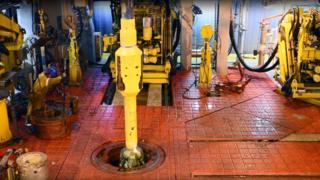 Drilling start-up at Mariner